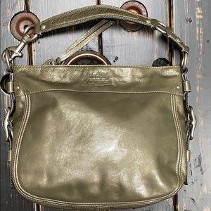 Coach Zoe Hobo Parent Leather Shoulder Bag #12735